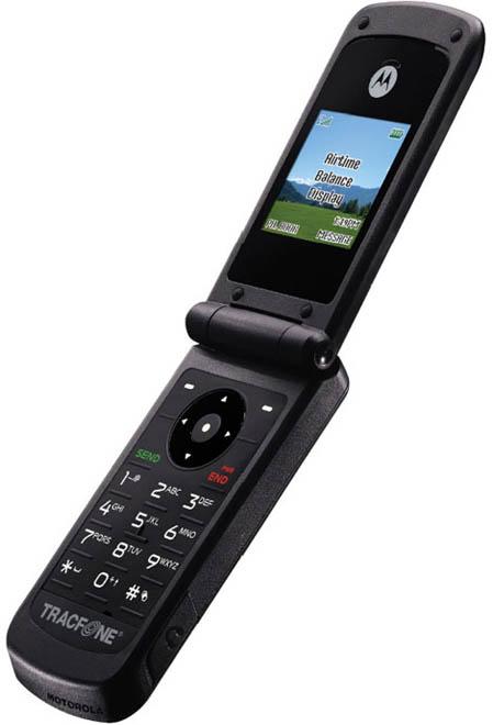 Фотографии мобильных телефонов Motorola W260g и W376g