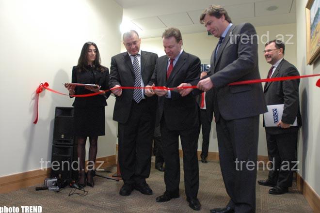 Bakıda ATƏT-in yeni ofisinin açılışı olub