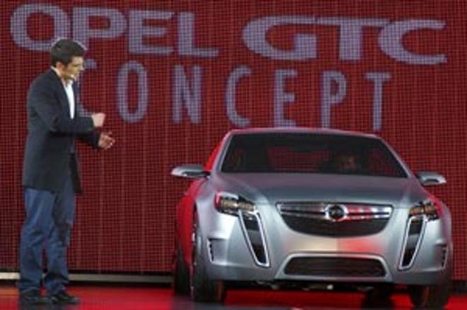 Geneva Motor Show Opel Unveils Gtc Concept