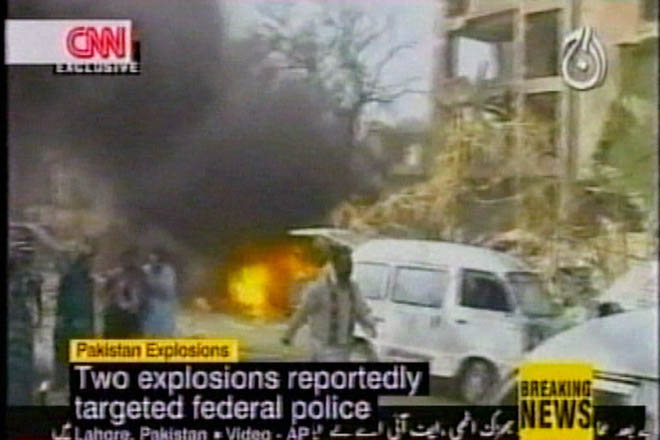 Четырнадцать человек погибли в результате взрывов в Пакистане (видео)