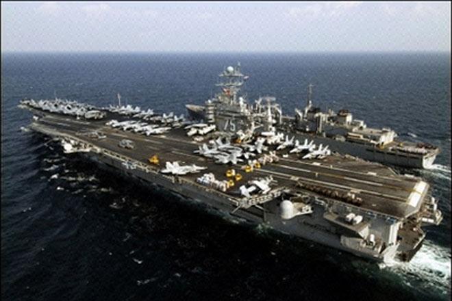Pentagon releases video of naval clash