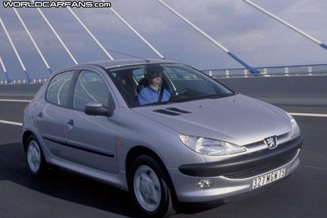 Peugeot 206 6000000 Vehicles Produce