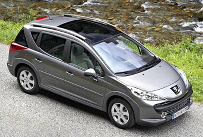 Peugeot построил на базе 207 SW универсал для путешественников