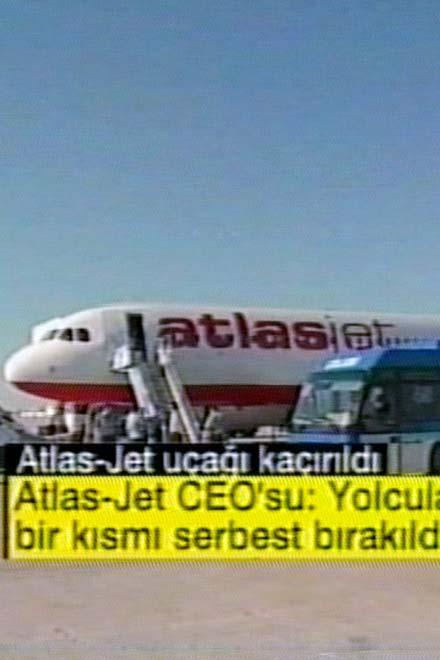 В Турции угнан гражданский самолет (видео)