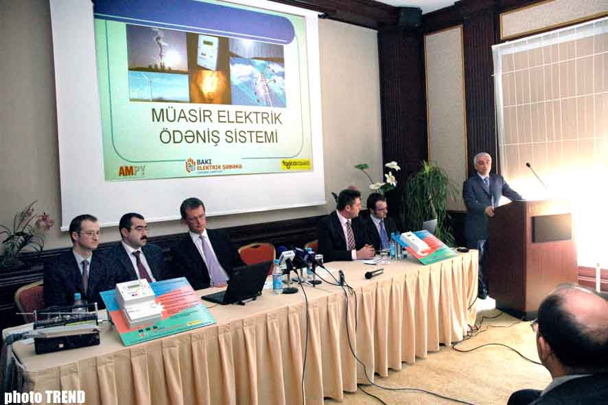 New GSM Meters of Baku Electricity Network will Increase Quality of Electricity Supply