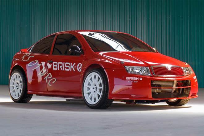 Prodrive построила раллийное купе на базе Skoda Fabia