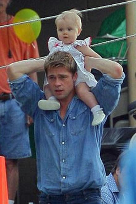 Брэд и Анджелина отметили день рождения дочери