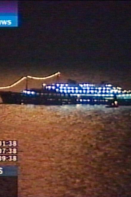 У берегов Израиля столкнулись два судна, ведутся поиски людей (видео)