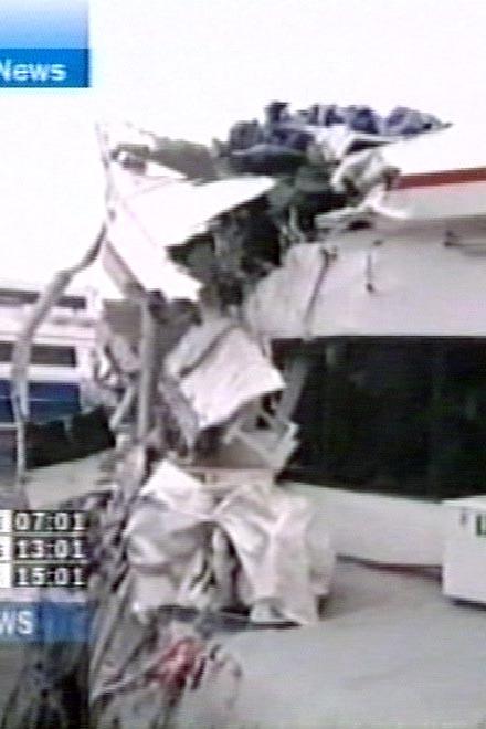 У берегов Турции разбилось российское судно (видео)