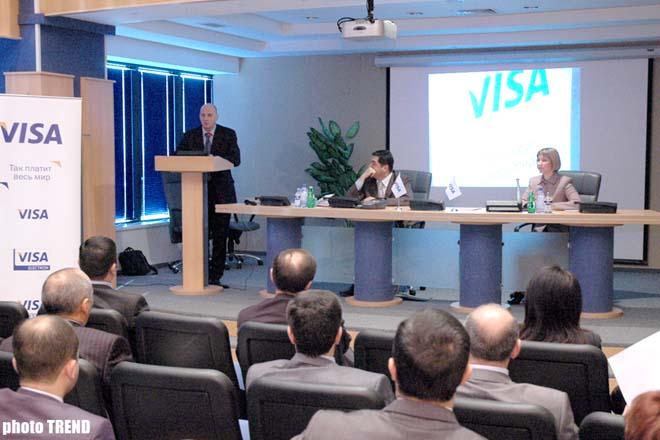 Visa International marked issue of the system's 500,000 cards by International Bank of Azerbaijan