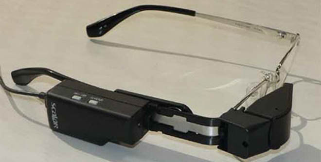 В Японии выпустили очки-телевизор