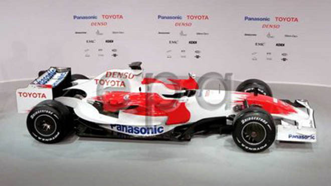 Toyoto target F1 advance as new car unveiled