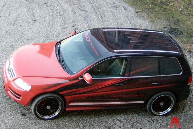 """""""Зажигательный"""" Volkswagen Touareg от Edo Competition"""