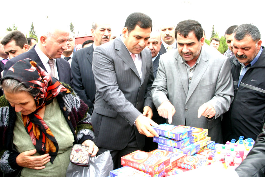 TRADE EXHIBITION OF LOCAL PRODUCTION GOODS TOOK PLACE IN SUMGAYIT