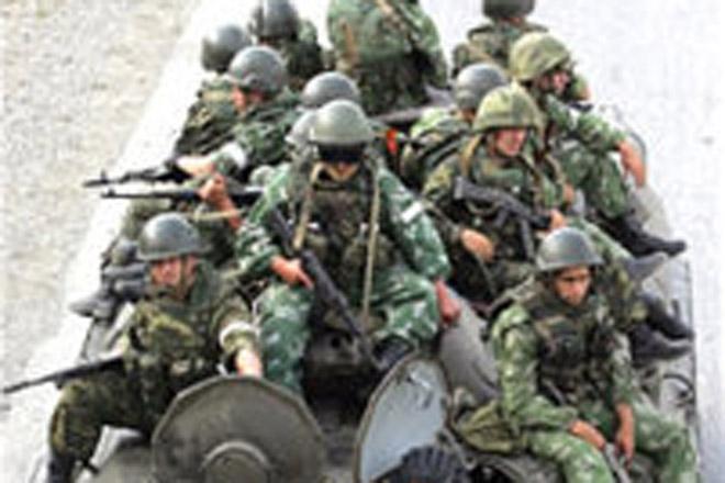 Əfqanıstanda terror aktı nəticəsində 3 gürcü hərbçi yaralanıb