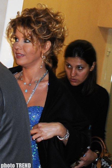Турецкая певица Гюльбен Эрген стала в Баку азербайджанкой (фотосессия)