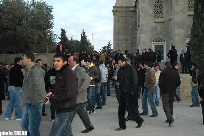 В Азербайджане отмечают праздник Гурбан байрамы - фотосессия