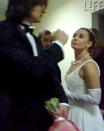 Жанна Фриске надела свадебное платье