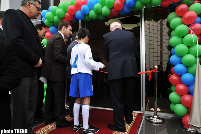 First Football Academy opens in Azerbaijan  (Video)