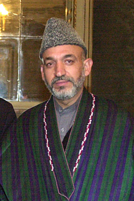 Afghan President Karzai hopes for security handover by 2014