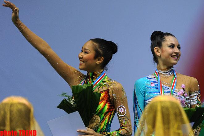 Сборная Азербайджана заняла второе место в Чемпионате Европы по художественной гимнастике (фотосессия)