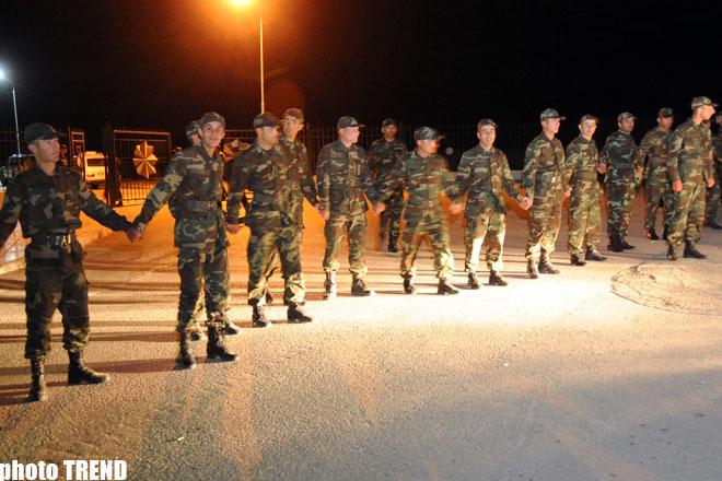 В воинской части Азербайджана произошло массовое  отравление (ДОПОЛНЕНО-3 - проводится лабораторная экспертиза пищевых продуктов) - ФОТОСЕССИЯ
