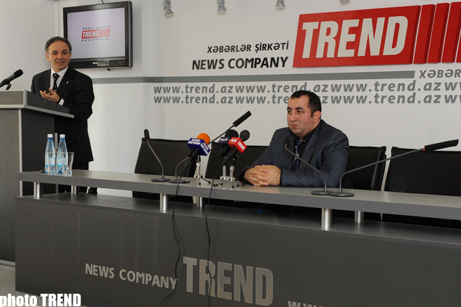 Documentary film dealing with Nagorno-Karabakh conflict presented in Azerbaijan (PHOTO)