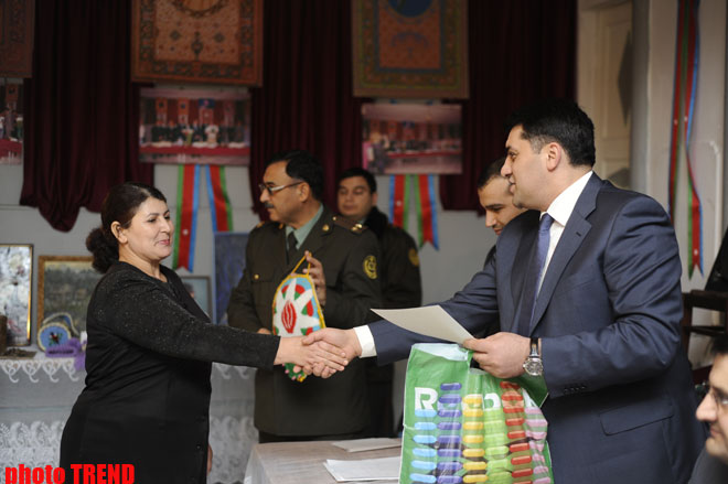 Azerbaijan holds brain-ring competition among female prisoners (PHOTO)
