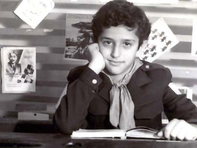 Детская фотосессия популярного исполнителя бакинского шансона Эйюба Ягубова
