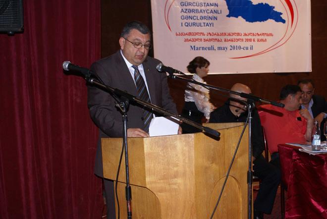 В Марнеули прошел первый съезд азербайджанской молодежи Грузии (ФОТО)