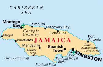 Parts Of Jamaica >> Emergency Delcared In Jamaican Capital After Attacks On Police Stations