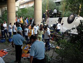 Antalyada azərbaycanlıların olduğu avtobus aşdı - ADLAR