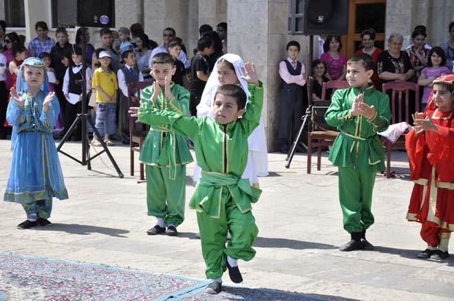 """ПО """"Азеркимья"""" провело мероприятие, посвященное Международному дню защиты детей (ФОТО)"""