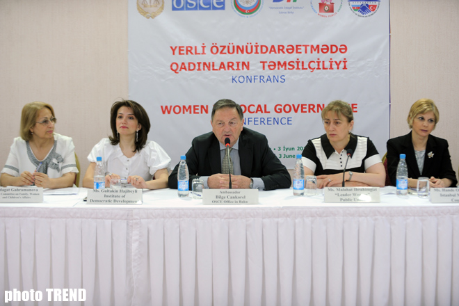 Azerbaijani MP: Women should be represented in government ...