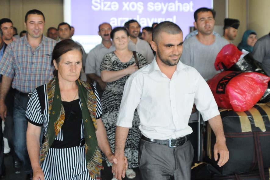 "Two citizens of Azerbaijan detained on board of ""Freedom  flotilla"" arrived in Baku (PHOTO)"