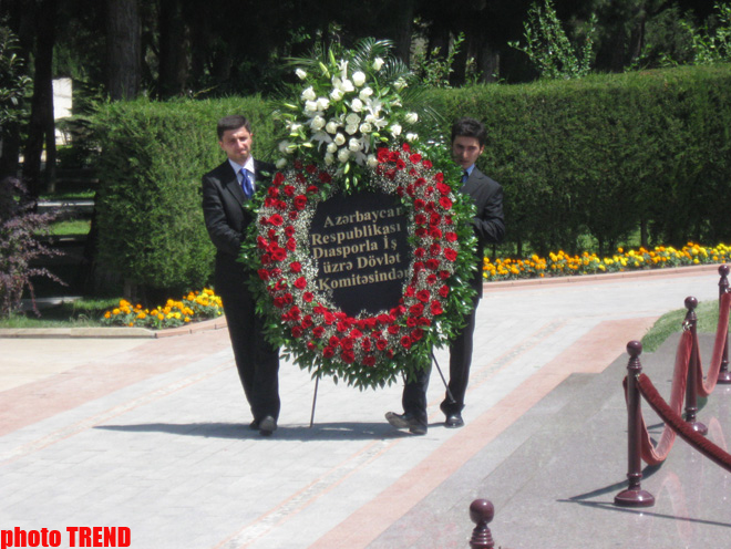 State committee chairman: Azerbaijani diaspora developed and passed process of organizational formation (PHOTO)