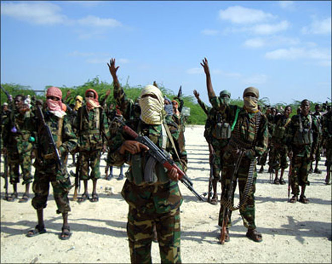 При стрельбе террористов имиротворцев вСомали погибли 24 человека