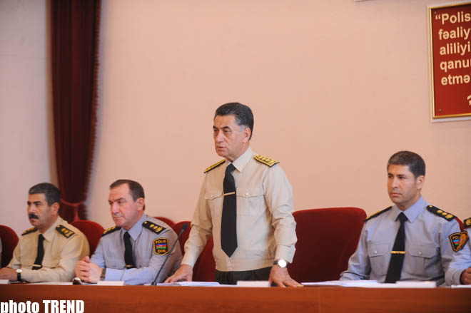 Interior Minister: Azerbaijani law enforcement agencies continue to preserve previously achieved positive level (UPDATE) (PHOTOS)