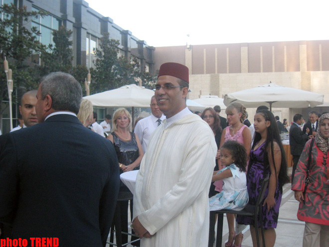 Independence Day of Kingdom of Morocco celebrated in Azerbaijan (PHOTOS)