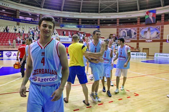 Azərbaycan basketbolçuları qələbə qazanmaqda davam edirlər (FOTO)