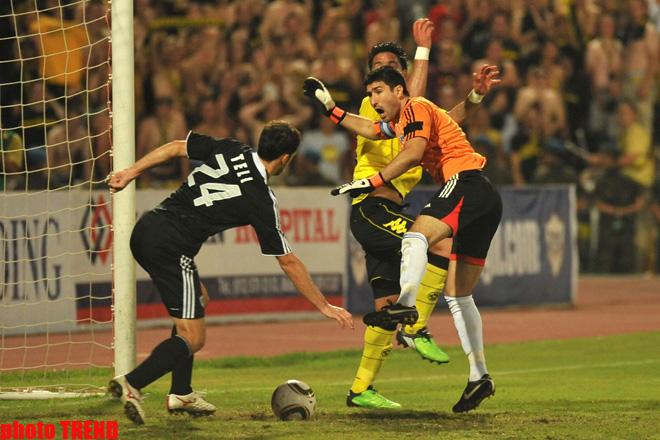 Qarabağ Borussiyaya uduzub (FOTO)