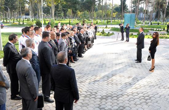 Azerbaijani President: Mingachevir must be tourist center (PHOTO)