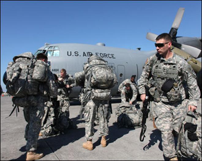 Новая группа войск США может прибыть в Афганистан в скором времени