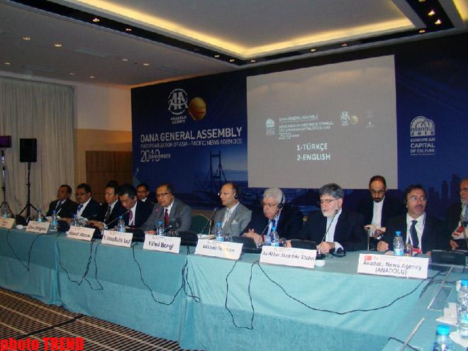 Агентство Trend принимает участие в Генассамблее международной организации OANA (ФОТО, ВИДЕО)