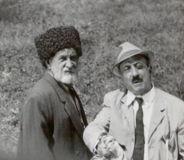 Дедушка дедушки нашего дедушки: в Баку отметили юбилей известного актера (ФОТО)
