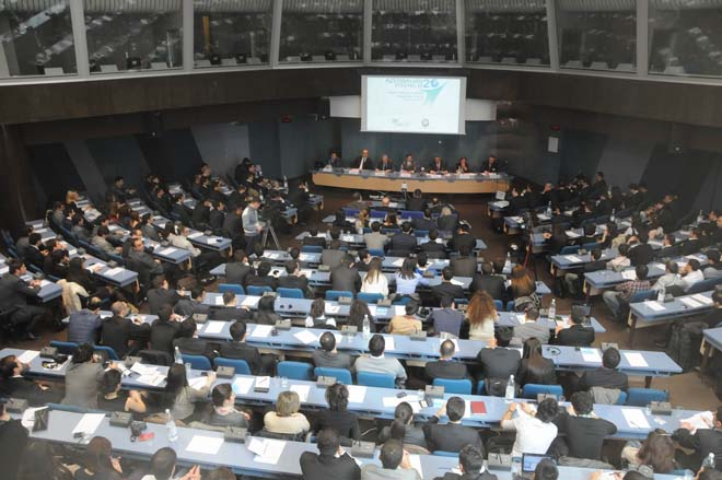 Forum of Azerbaijani youth studying in Europe starts in Strasbourg (PHOTOS)