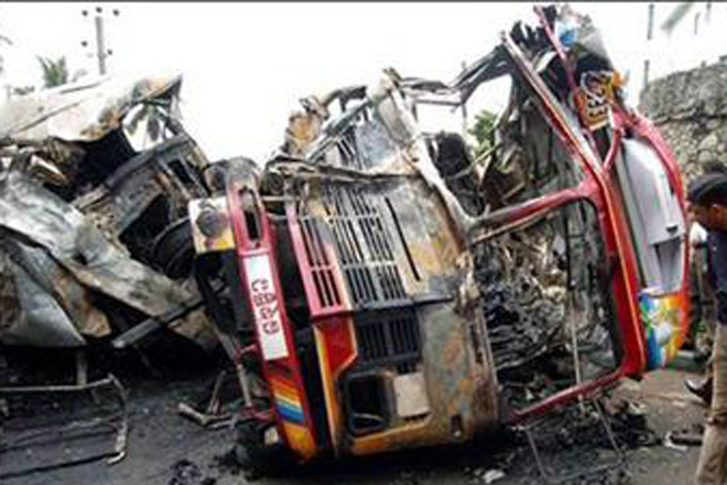 24 persons killed, 58 injured in road accidents in India (PHOTO)