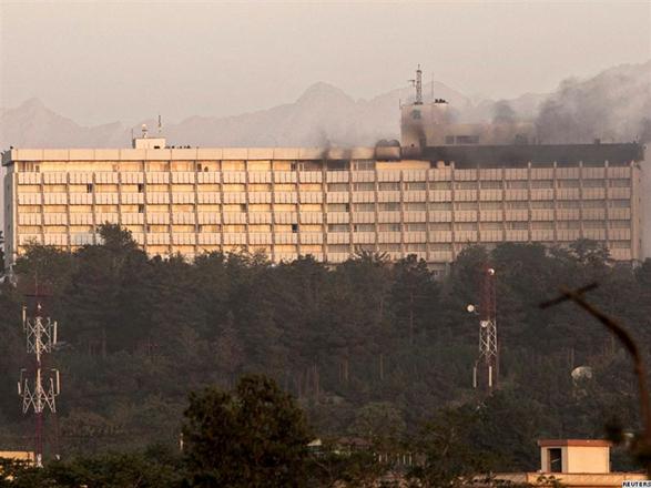 Kabulda otelə hücum olub – 30-dan çox ölü və yaralı.