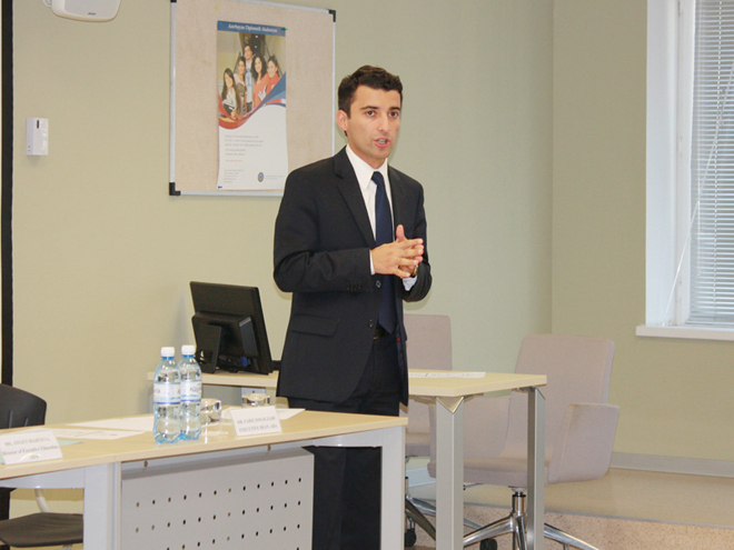 Azərbaycan Diplomatik Akademiyası dövlət məmurları üçün növbəti treninqə başlayıb (FOTO)