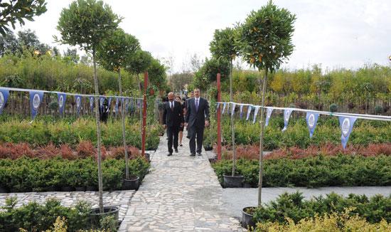 İlham Əliyev Qobustanda tinglik mərkəzinin açılışında iştirak edib (FOTO)